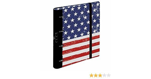 Busquets Carpeta Anillas Recambio A4 USA Flag by: Amazon.es: Juguetes y juegos
