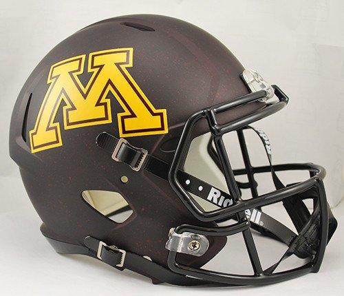 Minnesota Golden Gophers Deluxe Replica Speed Helmet - Licensed NCAA College Merchandise