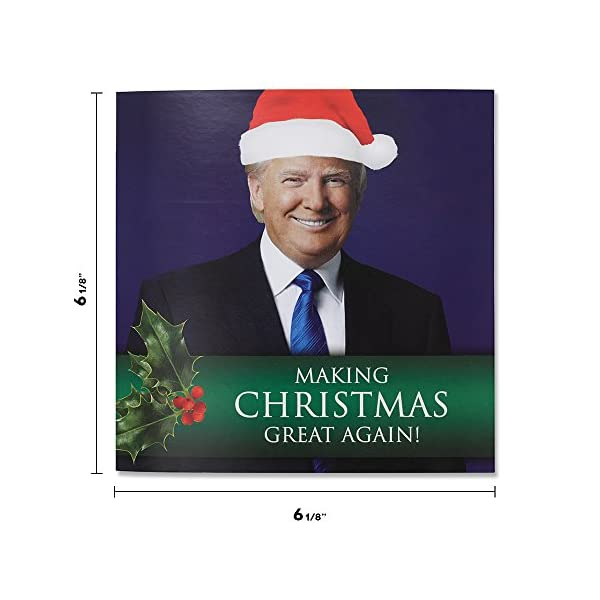 Talking Trump Christmas Card Wishes You A Merry Christmas In