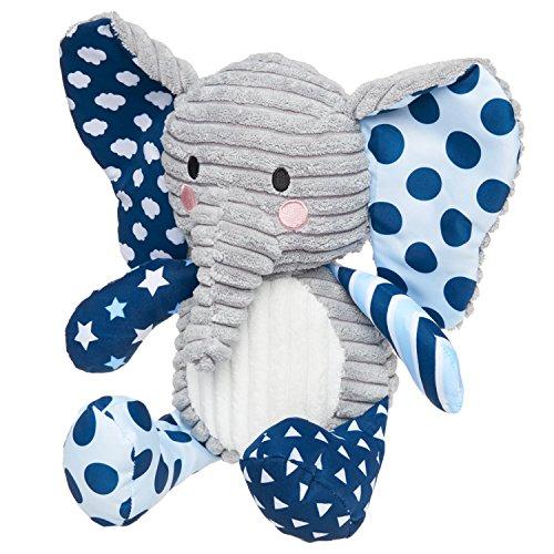 Lil' Prayer Buddy Lullaby Elephant - Blue - Plays Jesus Loves (Baby Shower Prayer)