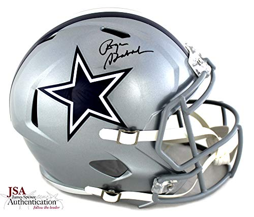 Roger Staubach Autographed/Signed Dallas Cowboys Full Size NFL Speed Helmet