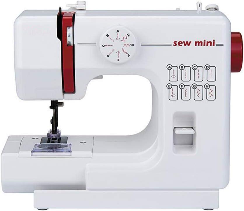 WJH Mini portátil de 525 Máquina de Coser con 8 Puntadas incorporadas Hacer a Mano de la reparación de la máquina