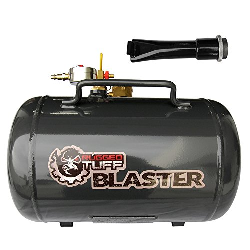 RuggedTUFF BLASTER Tire Bead Seater 5G Manual Valve Trigger 150PSI Portable Pneumatic Air Seating Breaker Sealer Inflator Tool 5 Gallon Tank for Truck Tractor ATV Quads SUV 4x4 AWD Offroad Powersports Lawn Mower Dirt Bike ASME Certified by RuggedTUFF BLASTER (Image #6)