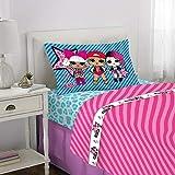 L.O.L. Surprise! Juego de sábanas de Microfibra Suave para niños, Blue Pink - Twin Size 3 Piece Pack, Blue Pink - Twin Size 3 Piece Pack, 1, 1