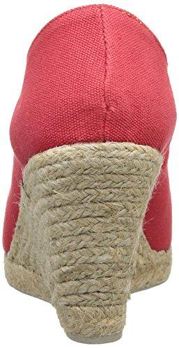 Pare Gabia Macaron - Sandalias de Vestir de canvas mujer Rojo - rojo
