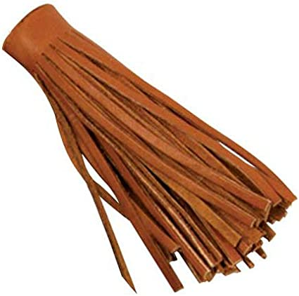 "5035-54 1 4/"" x 36/"" x 5//32/"" Saddle Tan Color Deertan Fringe"