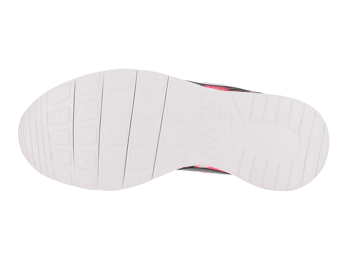 Nike Kids Tanjun Print GS 065 Black//Black White Hyper Pink Running Shoe