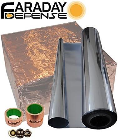 Faraday Jaula Kit (tamaño Extragrande), Caja de Bloqueo de señal Solar EMP ESD Heavy Duty Electro-Blindaje, Kit – Preppers para sobrevivalistas: Amazon.es: Electrónica