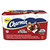 24 Regular Roll, Charmin Ultra Strong