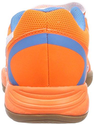 Puma Veloz Indoor II V Jr - Zapatillas deportivas para interior de material sintético Niños^Niñas naranja - Orange (orange clown fish-white-cloisonné 02)