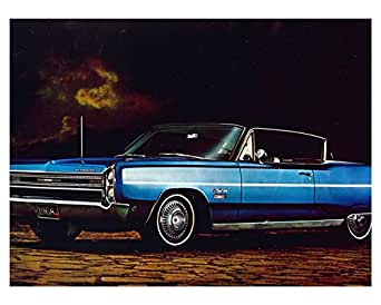 Amazon Com 1968 Plymouth Sport Fury 2 Door Fast Top