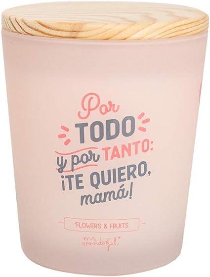 Mr. Wonderful WOA10115ES Vela - Por Todo y Por Tanto: ¡Te Quiero, Mamá!: Amazon.es: Oficina y papelería
