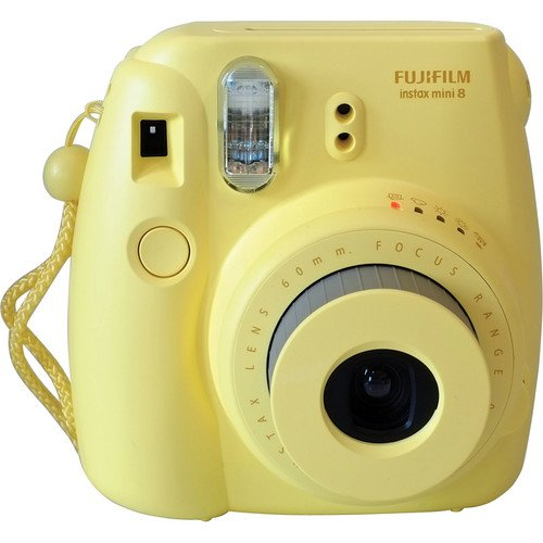 Fujifilm Instax Mini 8 Instant Camera – Light Yellow – Special Edition