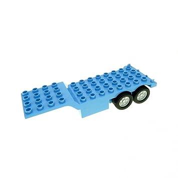 LEGO Duplo 1x Anhänger Auflieger Trailer f LKW neu dunkel grau 48123c01