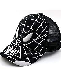 Child Baseball Cap Spiderman Super Hero Summer Kids Sun Hat Mesh Cap Snapback Children Caps