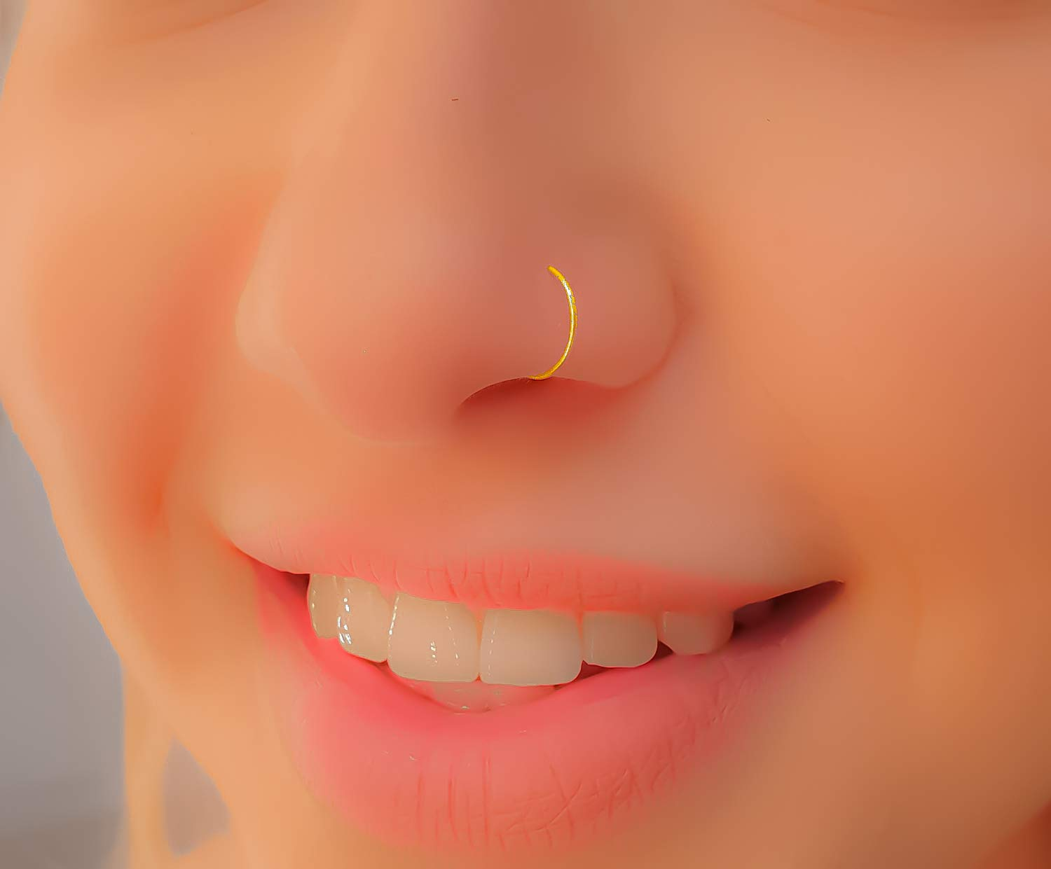 Nose Hoop 22g Nose Hoop Nose Ring Hoop Tiny Nose Hoop Small Nose