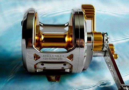 OKIAYA AXIS-L30 2 Speed Dual Drag Big Game Reel