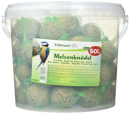 Erdtmanns Suet Balls, Netted, in Tub (Pack of 50)