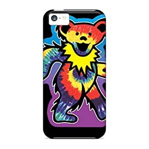 Premium Dancing Bear Back Cover Snap On Case For Iphone 5c