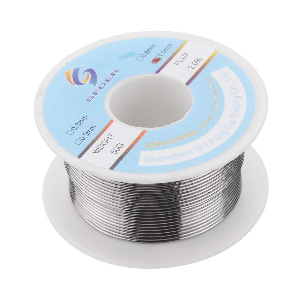 0.8Mm 0.5Mm 1.0Mm du fil lavable de m/énage de fil de soudure soud/é contenant le noyau de colophane RanDal Entretien de fil de soudure de 0.3Mm 0.3Mm