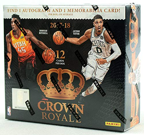 2017/18 Panini Crown Royale NBA Basketball HOBBY box (12 cards) ()