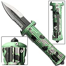 Zombie Hunter Tactical Spring Assist Knife