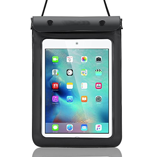 Universal 7-8 Inch Waterproof Tablet Case Dry Bag Protective Carrying Pouch Cover Compatible ASUS ZenPad 8 / Lenovo Tab 4 / iPad Mini 4 / Mini 3 / Alcatel 3T 8 / HP Pro 8 Tablet/Acer Iconia One 8 /