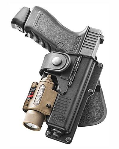 Fobus Tatical oculta Bisagra de transporte Paddle con enganche para Glock 19,23/WALTHER P99 con Tactical accesorio: Amazon.es: Deportes y aire libre
