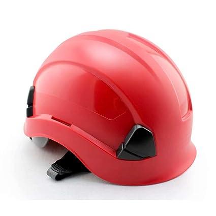 WY-Hard hat Resistencia en el Trabajo Casco de Seguridad Casco para guía, Poderes