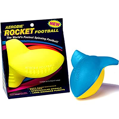 Aerobie Rocket Football - Mini Foam Football for Outdoor Play - Colors May Vary: Toys & Games