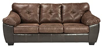 Ashley Furniture Signature Design - Gregale Contemporary Upholstered Sofa - Coffee Brown