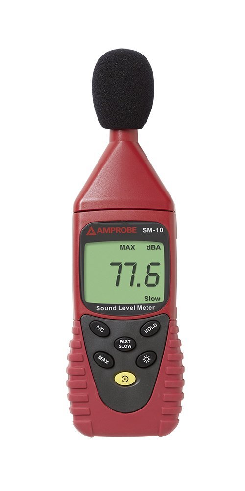 Amprobe SM-10 SLM digital sound meter