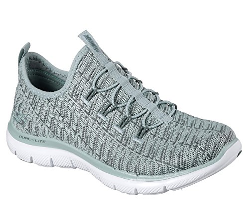 Vert Insights Baskets Femme Appeal Flex 0 2 Skechers Gris xwnq81IX