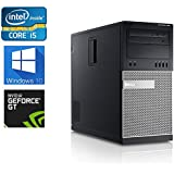 Dell Gaming Optiplex 990 Mini-Tower Computer, Intel Core i5 3.3 upto 3.7GHz 2500 CPU, 16GB DDR3 Memory,250GB SSD + 1TB HDD, WiFi, Windows 10 Pro, Nvidia GT730 4GB (Certified Refurbished)