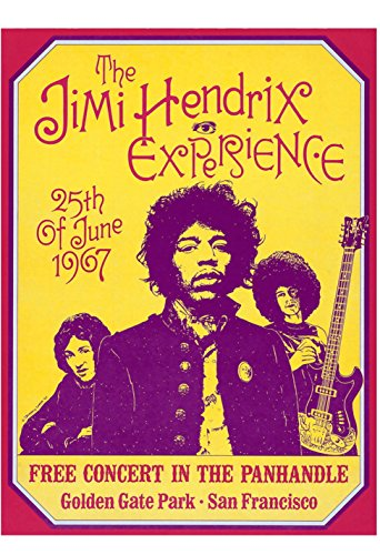 Old Tin Sign Concert Poster Jimi (Stuff Inside Tin Sign)