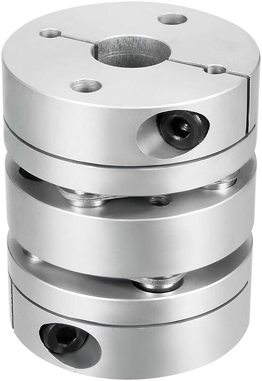 Sourcingmap 10/x 10/mm Clamp Tight Arbre du moteur 2/Membrane Couplage Coupler