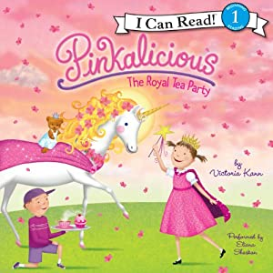 Pinkalicious: The Royal Tea Party Audiobook