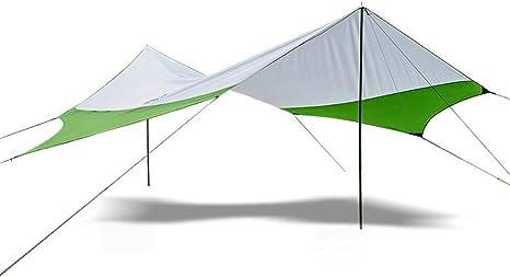 NOBLJX 4 Personas Camping Tarps, Tienda de Refugio Ligero ...