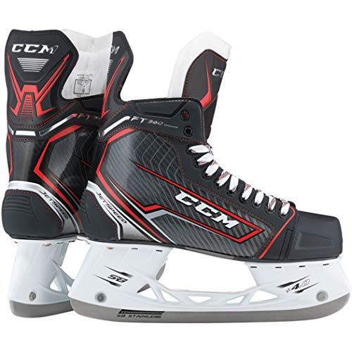 (CCM Jetspeed FT360 Ice Hockey Skates (Y9.0 D))