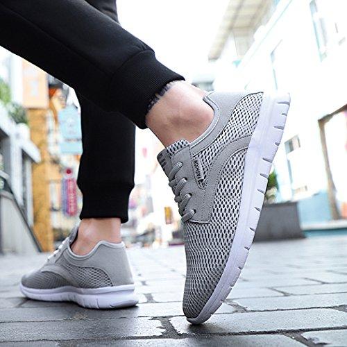 MXXM Chaussures de Running pour Homme Gris 5PcZxPMBA