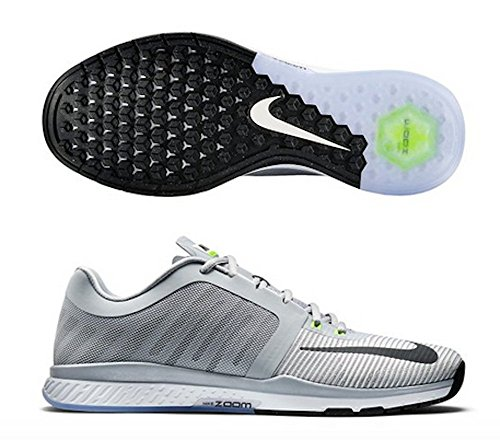 Volt Mens Zoom Wolf 704 Black Grey Nike 804401 Tr3 Speed White 8Zd7qwp