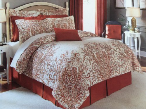 NOBLE EXCELLENCE Paisley AMORINO Floral STANDARD PILLOW SHAM