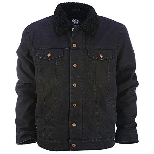 Dickies Glenside Fleece Lined Jacket Black by Dickies