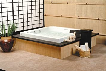 square japanese soaking tub. Neptune Tokyo Square Extra Deep Japanese Soaker Bath Tub 60 x 30 TO60S  Biscuit
