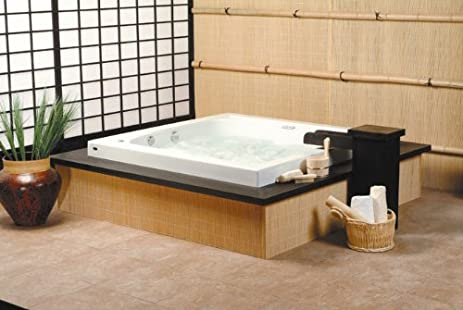 Neptune Tokyo Square Extra Deep Japanese Soaker Bath Tub 60 x 60 x 30 TO60S  BiscuitNeptune Tokyo Square Extra Deep Japanese Soaker Bath Tub 60 x 60 x  . Square Japanese Soaking Tub. Home Design Ideas