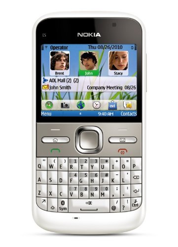 amazon com nokia e5 00 unlocked gsm phone with easy email setup im rh amazon com Nokia C7-00 Nokia E71