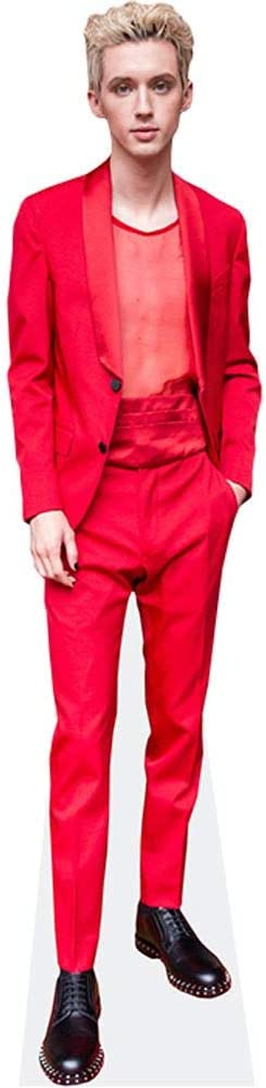 Red Suit Celebrity Cutouts Troye Sivan Grandeur Nature