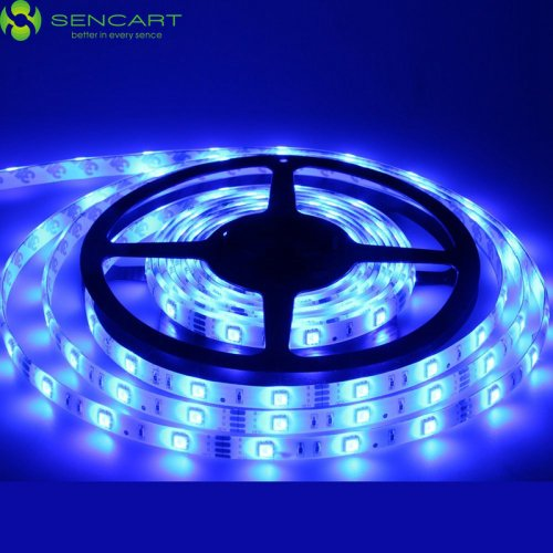 Dimmable Self-adhesive 4502206 Cuttable Remote Control LightInTheBox 5M 30W 300x2835SMD LED Blue Flexible LED Light Strips Light Strips DC12V Suitable for Vehicles Linkable