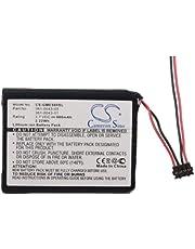 600mAh Replacement Battery Fit for Garmin 010-01626-02, Edge 500, Edge 520, Edge 200, Edge 205, Edge Explore 820