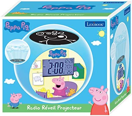 Lexibook - Despertador Digital, Azul (Peppa Pig): Amazon.es ...